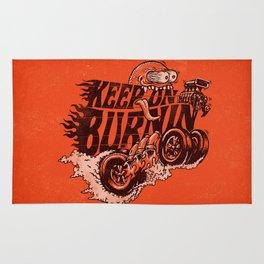 'KEEP ON BURNIN' Rug