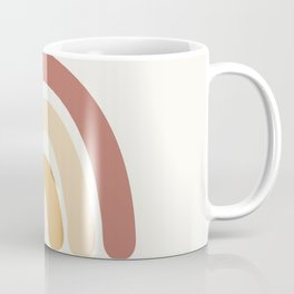 Mid Century Rainbow Coffee Mug