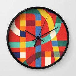 Jazz city Wall Clock