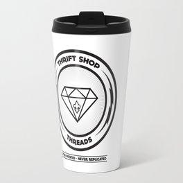 Thrift Shop Threads Button_Diamond Travel Mug