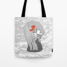 Poppy Back Tote Bag