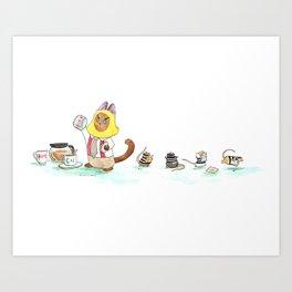 Sugar Heist Art Print