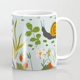 Strawberry Garden Pattern Coffee Mug