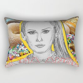 (Angel - Leona Lewis) - yks by ofs珊 Rectangular Pillow