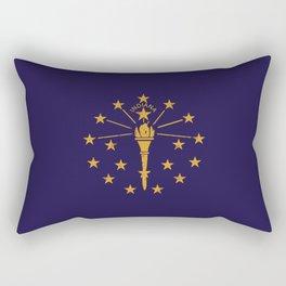 Indiana State Flag Rectangular Pillow