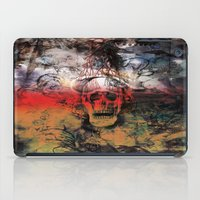 fear iPad Cases featuring FEAR by sametsevincer