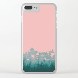 LAND/CITY SCAPE Clear iPhone Case