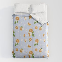 Orange blossom Comforters