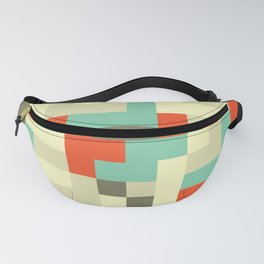 Camouflage Modernist Fanny Pack