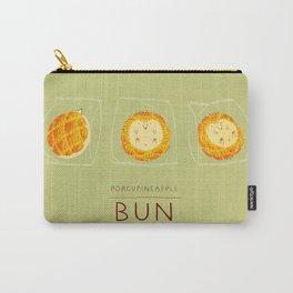 Porcupineapple Bun Carry-All Pouch