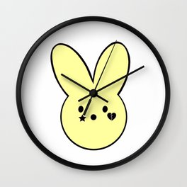 Lil Peep Inspired Peeps Plush Bunny Wall Clock