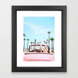Long Beach Framed Art Print