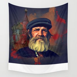 Leaving Moscow Wall Tapestry