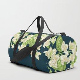 Jasmine Decorative Branch Duffle Bag