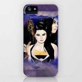 Evanescence Amy Lee Harp Painting  iPhone Case