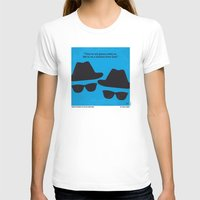 blues brothers T-shirts featuring No012 My Blues brothers minimal movie poster by Chungkong
