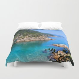 Carving Out Wonders Duvet Cover