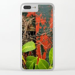 Fence Clear iPhone Case