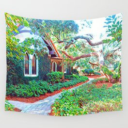 green sanctuary Wall Tapestry