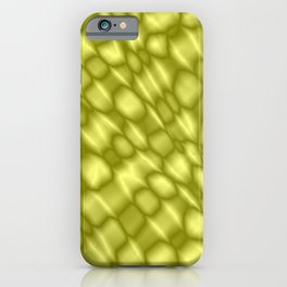 The intersection of poisonous droplets of a solar grid of dark cracks on the glass.  iPhone Case