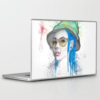 fear and loathing Laptop & iPad Skins featuring Fear and Loathing by Becca Douglas