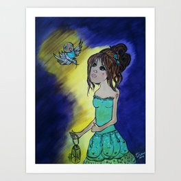 dreaming... Art Print