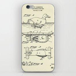 Self-Propelled Duck Decoy-1963 iPhone Skin