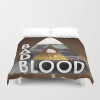 bastille Duvet Covers featuring Bastille #3 by Thafrayer