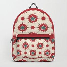 Retro Christmas Stars Backpack