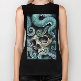 Please my love, don't die so far from the sea... Biker Tank