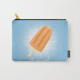 Oh So Cool - Orange Carry-All Pouch