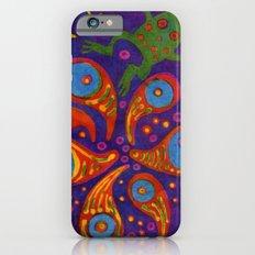 Space Frog batik Slim Case iPhone 6s