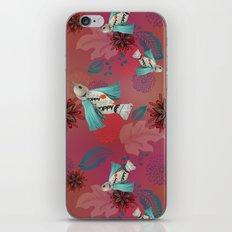 Poppy In Flight iPhone & iPod Skin