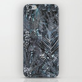 Busy Forest Print iPhone Skin
