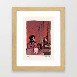 Beach Cop Detectives 06 - The Bar Framed Art Print