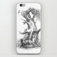 otters iPhone & iPod Skins featuring Otters by Vera Zowadova
