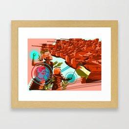 PALESTINE Framed Art Print