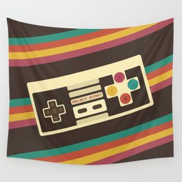 Retro Video Game 2 Wall Tapestry