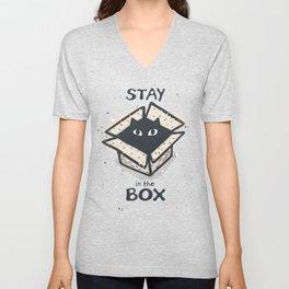 Stay in the Box Unisex V-Neck