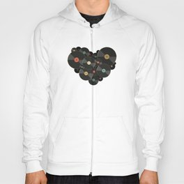 Heart of a Vinyl Lover Hoody