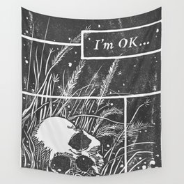 I'm OK... Wall Tapestry