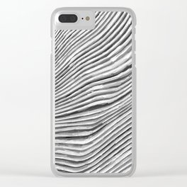 Fluid Strands of Time by Tito Clear iPhone Case