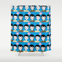 friendship Shower Curtains featuring Friendship by Jonny Bateau