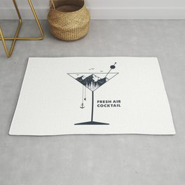 Fresh Air Cocktail Rug