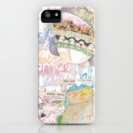wildly about. iPhone Case