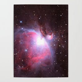 Great Nebula in Orion Poster