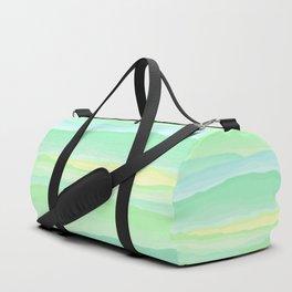 Mint Aqua Rolling Hills Duffle Bag