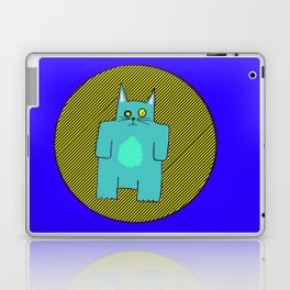 BlueKat in the danger zone Laptop & iPad Skin
