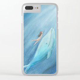 Just see the light Clear iPhone Case