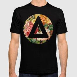 Bastille triangle vintage flowers T-shirt